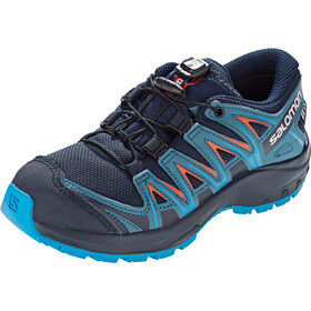 Salomon XA Pro 3D CSWP Chaussures Adolescents, navy blazer/mallard blue/hawaiian